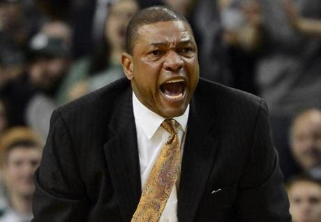 Coach Doc Rivers is seen as a key weapon in rallying the Celtics for a potential late-season run.